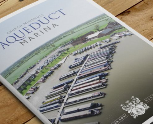 Aqueduct Marina Brochure Design Red Fred Creative