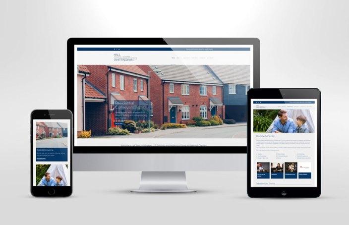 Hall Smith Whittingham - Responsive Web Design Cheshure