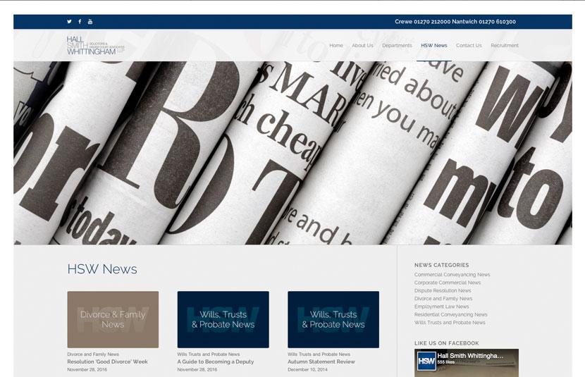 Responsive Website Redesign Nantwich
