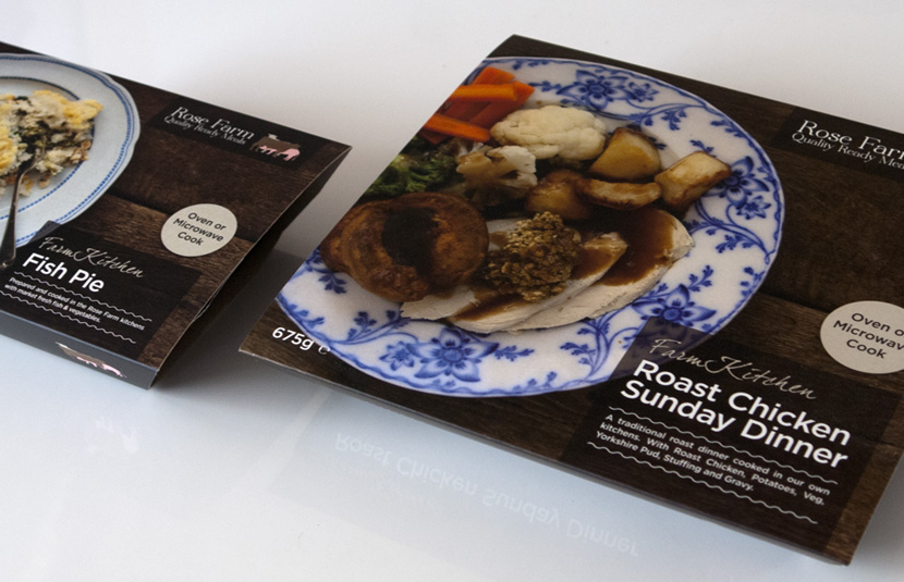 Ready Meal Packaging Design Nantwich