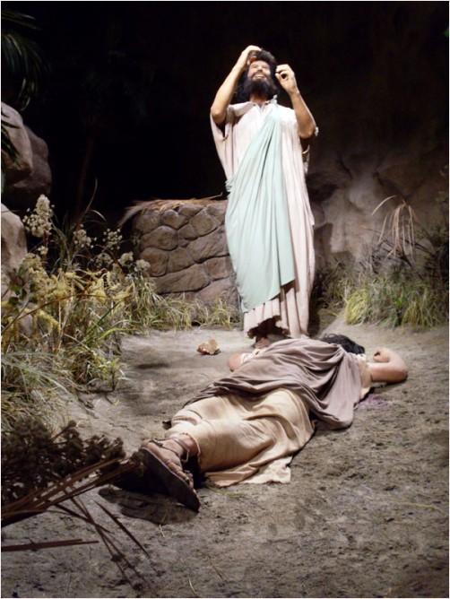 Cain slaying Abel (Gen 4)