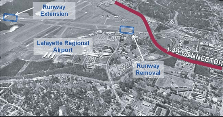 The I-49 Lafayette Connector and Lafayette Regional Airport: Myths And Reality