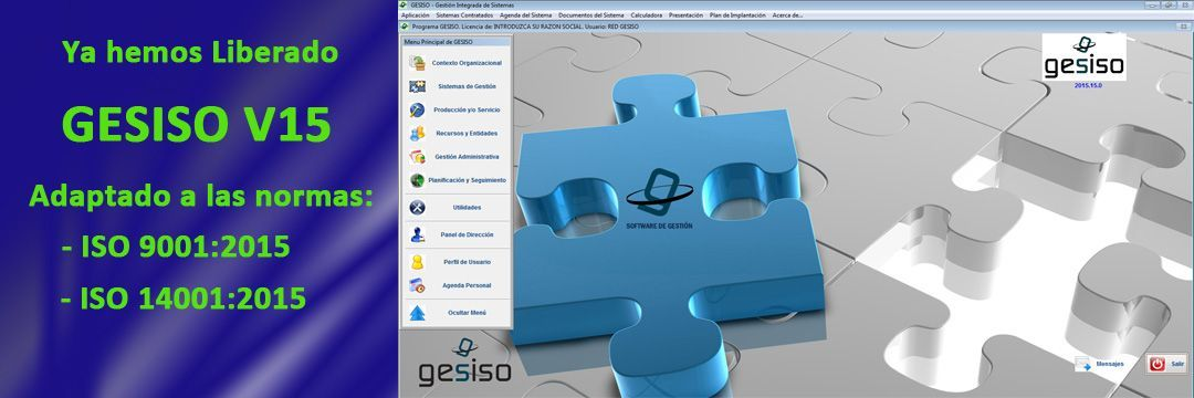 Sistema Integrado ISO versión 2015