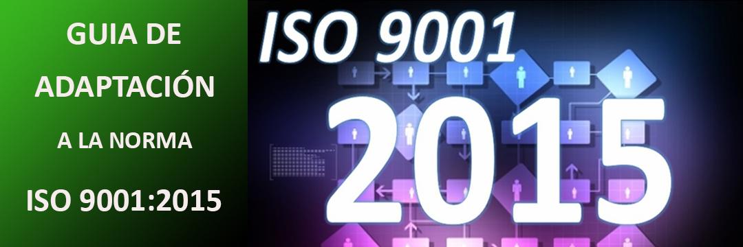 Guía de adaptación o implantación inicial a la norma ISO 9001:2015