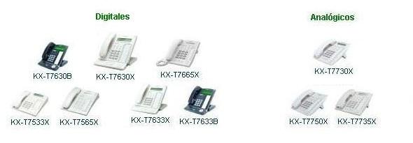 Telefonos para oficina conmutadores marca Panasonic en