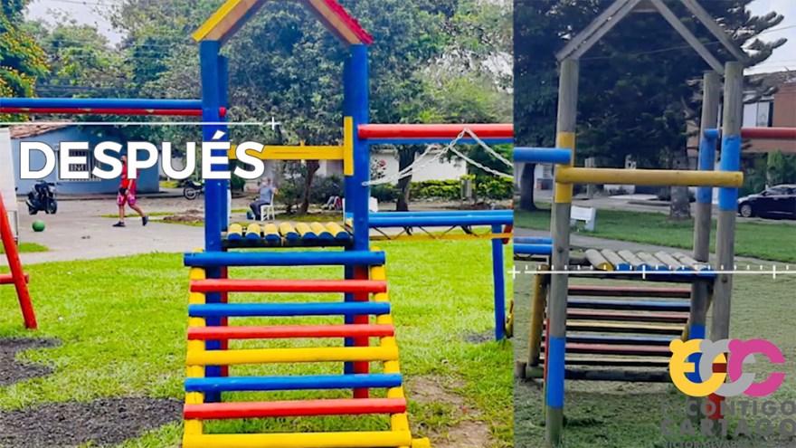 Reacondicionamiento de parques y jardínes en Cartago, Valle del Cauca, Colombia - Red Gobierno