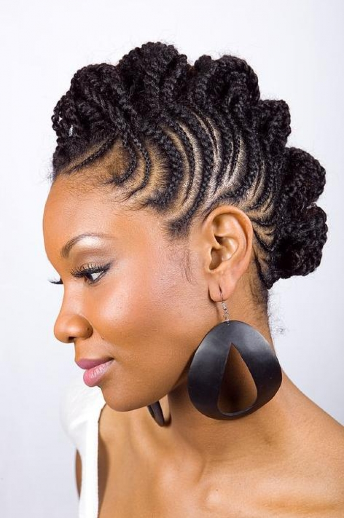 natural black hairstyles  Redgoldenchild