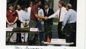 Dan Quaye and I back in 1992