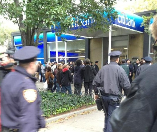 Occupy Wall Street: Citibank was stupid. Chase bank was smart.