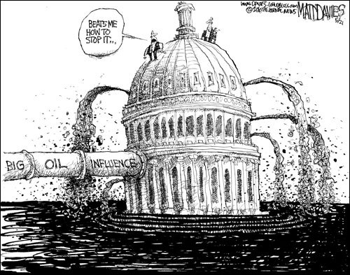 big oil influence