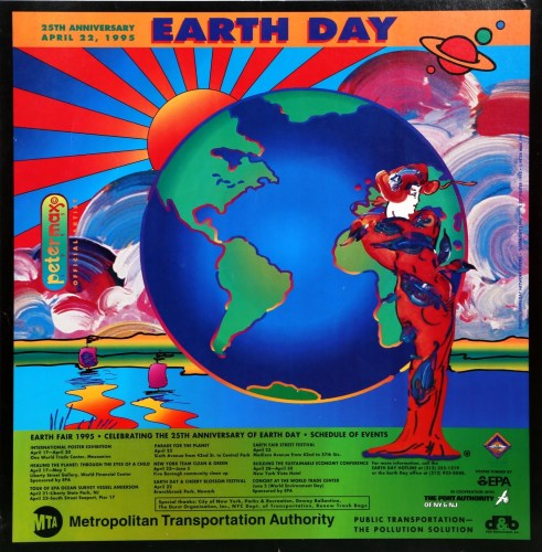 earth day 1995 by peter max