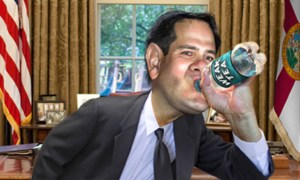 Marco-Rubio-Water-donkeyhotey-climate-change