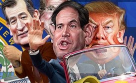 GOP clown car rides into the South Carolina primary
