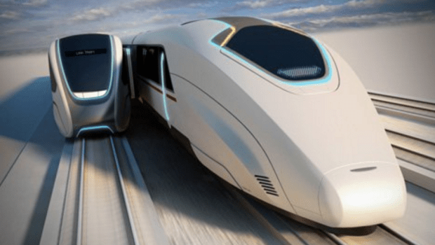 HIgh speed rail of the future/ iimage by banglafarid
