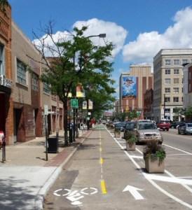 new bike trial in akron ohio by Jason Segady