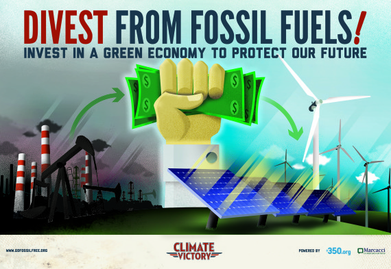 Divest! Banks and institutions dumping dirty fossil fuel money