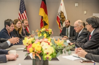 California and Germany sign climate agreement