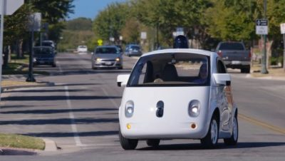 Honda self-driving car