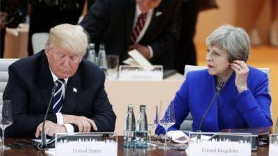 Trump meets Theresa May at G20