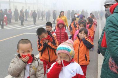 smog in china. BBC photo