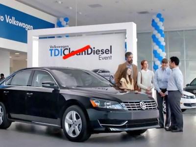 VW lied about clean diesel
