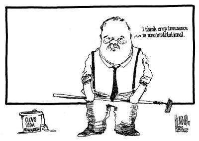 Sam Clovis Cartoon by Greg Kearney