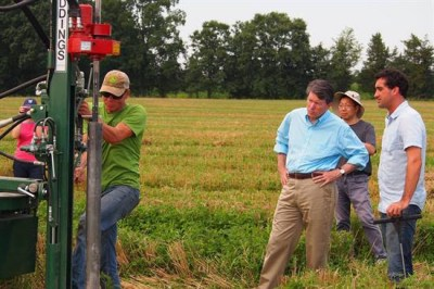 Citizens climate lobby shows John Faso carbon sequestration