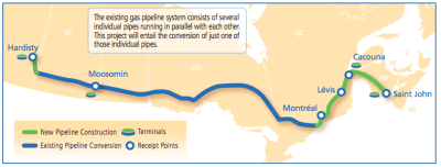 transcanada's energy east oil pipeline