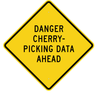 climate change cherry picked data