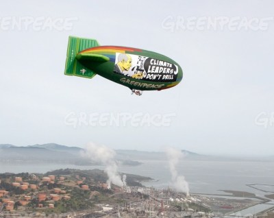 Greenpeace vs Jerry Brown and big Oil