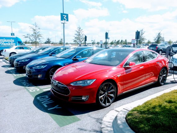 Tesla Is Gobbling Up The Luxury Car Market 8 Charts And Graphs