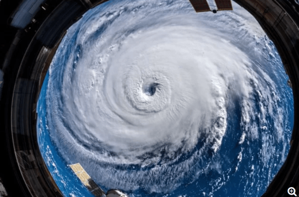 Hurricane Florence from Space.com