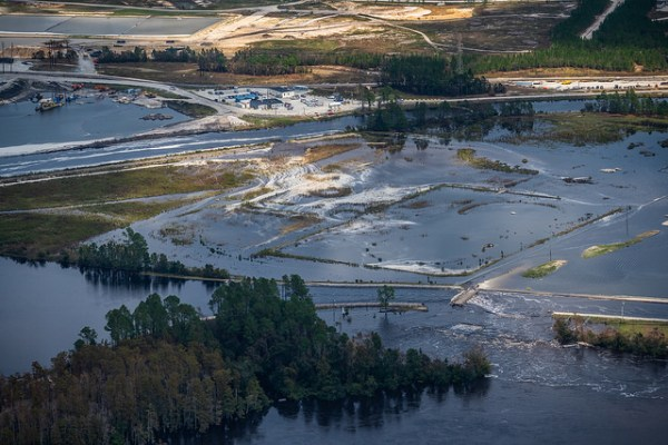 sutton toxic coal ash spill after hurricane florence flooding