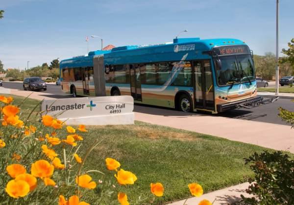 AVTA wireless charging EV buses