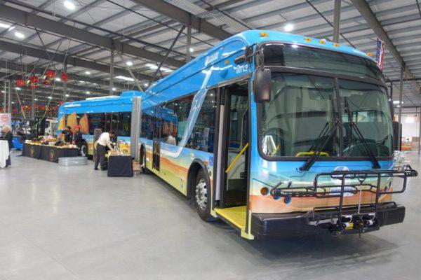 AVTA wireless charging EV electric buses
