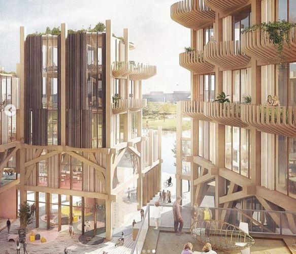 Toronto smart city plan  from Sidewalk Labs