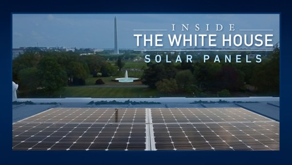 Jimmy Carter put solar panels on the white house