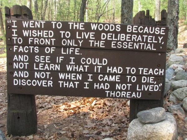 Walden Pond, Henry David Thoreau