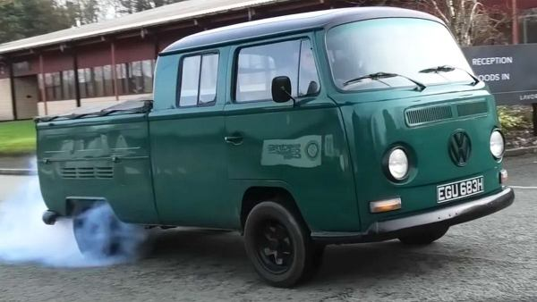 This '69 VW Is Hiding A 450 HP Tesla Motor