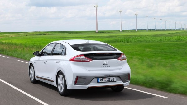 Hyundai Ioniq Electric, the cheapest car to lease