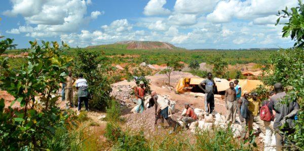 Mining cobalt in Africa