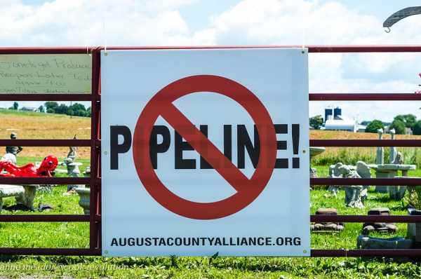 No Atlantic Coast Pipeline (Photo CC by cool revolution on Flickr)