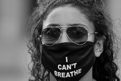 "Black lives matter ""I can't Breathe"" photo by Miki Jourdan from DC protest BLM"