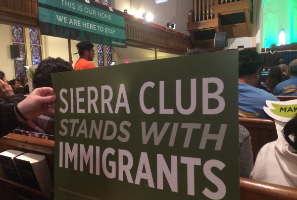 The Sierra Club stands with immigrants - this country needs dreamers - DACA