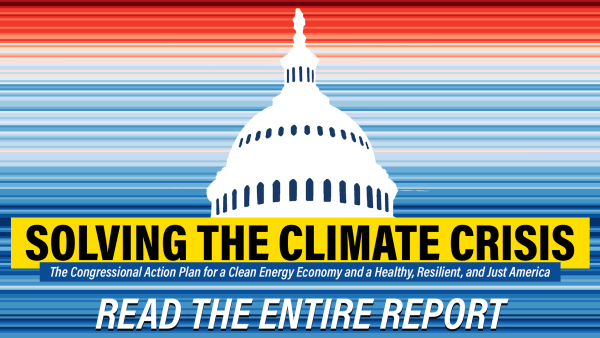 Congressional Climate Committee report on climate change