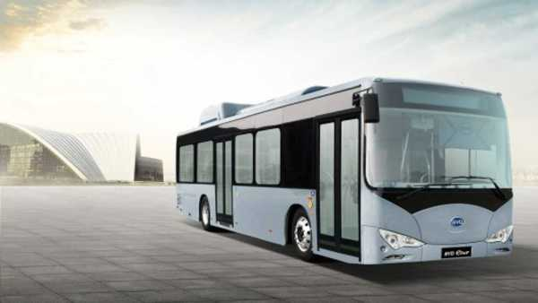 Chinese firm BYD is demonstrating this all electric bus in Brazil
