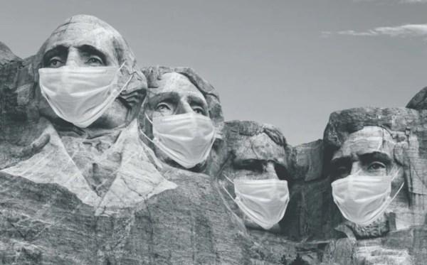 Mount Rushmore national park coronavirus masks