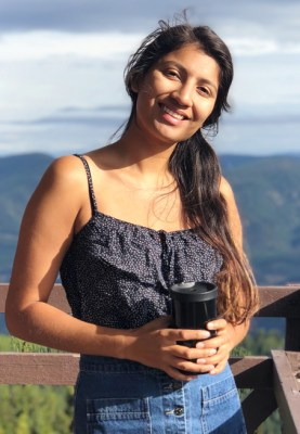 """""""You don't see people like yourself in the field of conservation,"""" says University of Montana graduate student Erynn Castellanos. Photo courtesy of Erynn Castellanos"""
