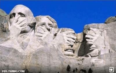 Mount Rushmore Facepalm