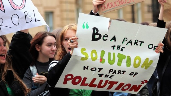 School strike for climate
